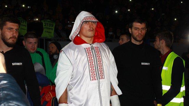 Олександр Усик вперше увійшов до трійки кращих у ретийнгу WBO