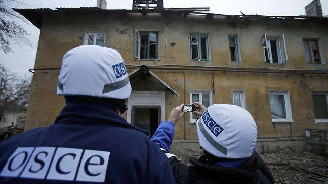 ОБСЄ підтвердила сьогоднішні обстріли Дебальцевого, Донецька, Луганська та Райгородки