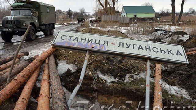 У Станиці Луганській бойовики знищили все, крім адміністрації та пам'ятника Леніну