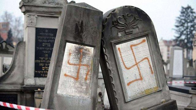 У Франції вандали поруйнували єврейський цвинтар