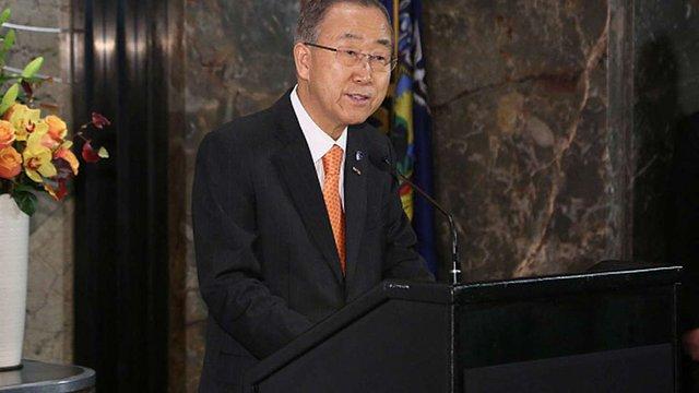 Генсек ООН занепокоєний ситуацією навколо Дебальцевого