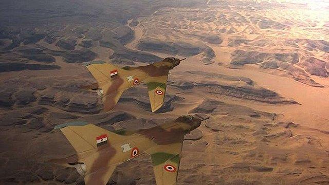 ВПС Єгипту завдали ударів по позиціях «Ісламської держави» в Лівії