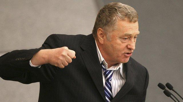 Жириновський хоче, щоб Росія «знищила Київ напалмом»
