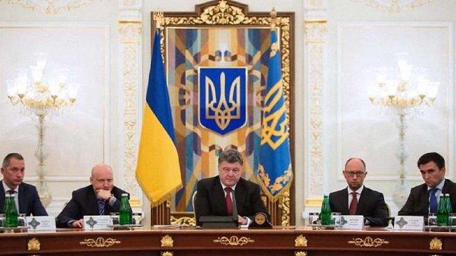 Порошенко пропонує ввести міжнародних миротворців на Донбас