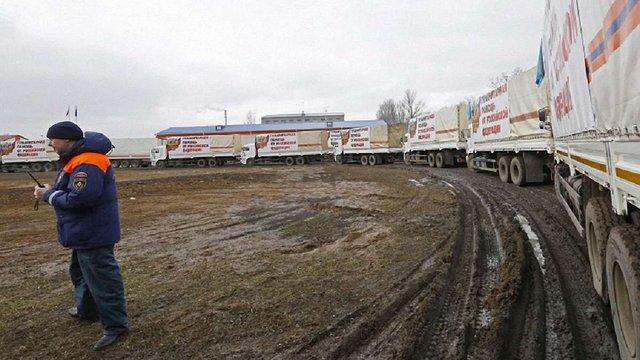 Росія відправила у Дебальцеве черговий «гумконвой»