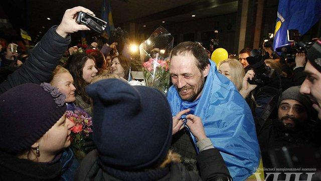 В Київ повернулися бійці, які вийшли з Дебальцевого