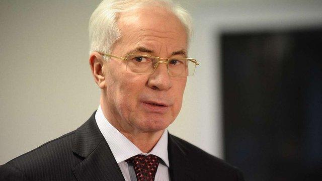 Військова прокуратура оголосила про підозру Азарову