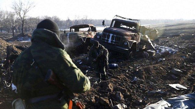 До Дебальцевого рушив спеціальний російський «гумконвой»