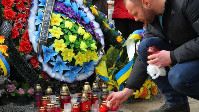 У Львові на Личаківському кладовищі вшанували Героїв Небесної Сотні