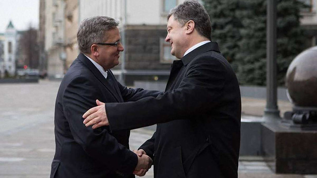 Президент Польщі підтримав ідею введення миротворців ООН на Донбас