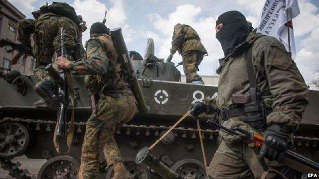 Бойовики накопичують техніку і живу силу, в Іловайськ прибув ешелон з боєприпасами