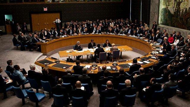 Українська делегація не бере участі у засіданні Радбезу ООН