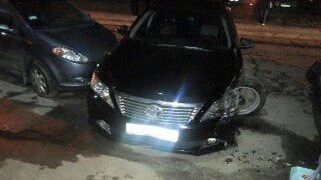 У Львові п'яний екс-заступник начальника управління ДАІ протаранив чотири автомобілі