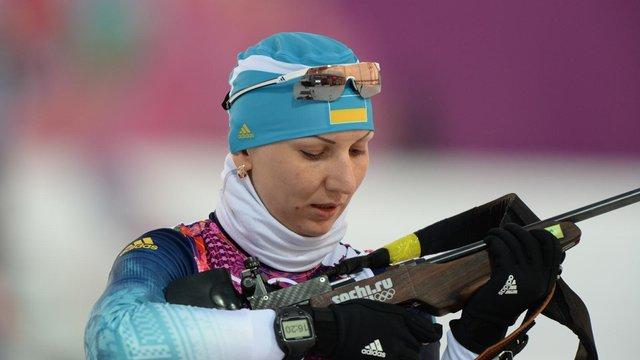 Біатлоністка Олена Підгрушна повертається у великий спорт