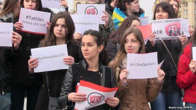 З 1 квітня в Криму не буде кримськотатарських ЗМІ