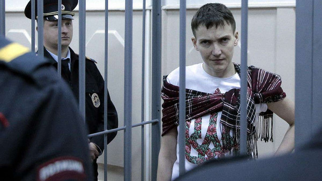 МЗС РФ не визнало дипломатичного статусу депутата ПАРЄ у Надії Савченко