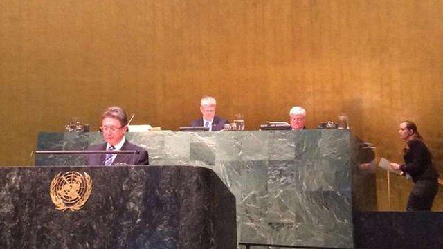 Генеральна асамблея ООН прийняла резолюцію про співпрацю з ГУАМ