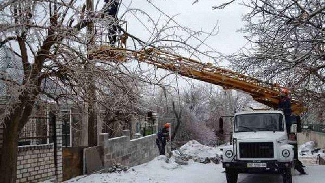 Негода знеструмила 12 сіл у Жовківському та Сокальському районах