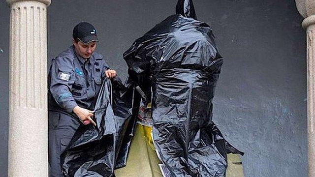 Погруддя Леніна в Челябінську розмалювали в кольори українського прапора