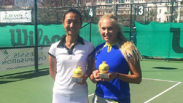 Українка Олена Сотникова здобула подвійний титул на тенісному турнірі