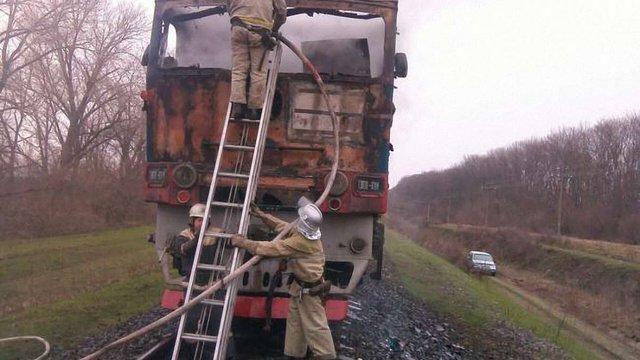 У пасажирському потязі «Одеса – Київ» сталася пожежа