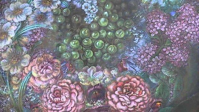 На честь Катерини Білокур у Києві створять інсталяцію з 20 тис. квітів