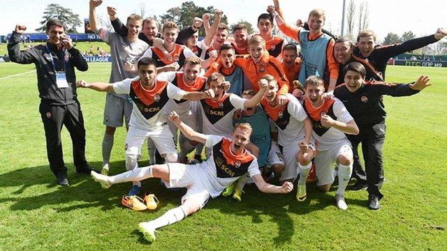 «Шахтар» пройшов до фіналу Юнацької ліги УЄФА
