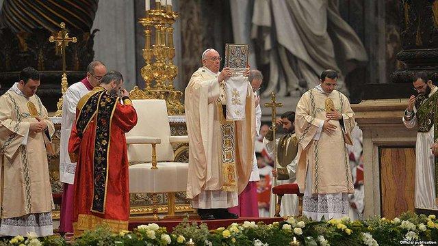 Папа Римський прирівняв масове вбивство вірмен до злочинів нацизму і сталінізму