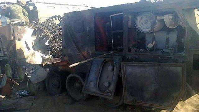 В Інтернеті з'явилися фото російського ЗРК «Тор-М1» знищеного українськими бійцями