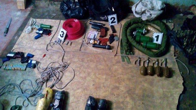 У Харкові СБУ затримала 11 диверсантів, які вчинили низку терактів (фото)
