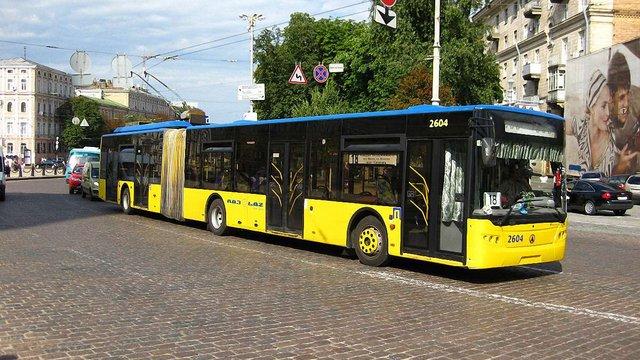 На аукціон виставили 33 арештовані тролейбуси ЛАЗу