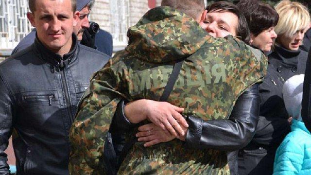 Львівські міліціонери поїхали у зону бойових дій зачищати території від бойовиків