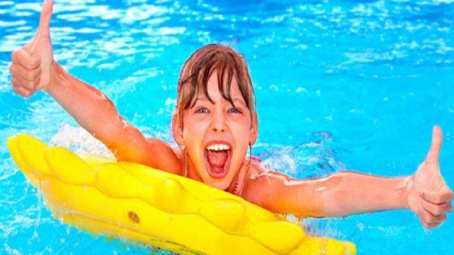 Діти учасників АТО побували у львівському аквапарку