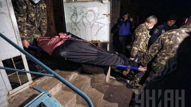 Опубліковано фото з місця вбивства екс-регіонала Калашникова