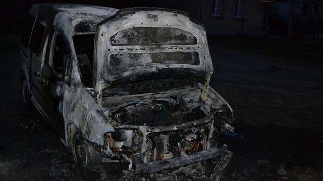 У Луцьку спалили автомобіль активіста «Самооборони Волині»