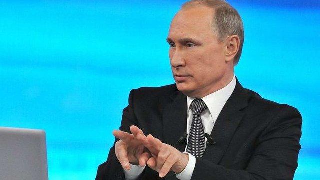 46% громадян Росії вважають «пряму лінію» Володимира Путіна показухою, - опитування