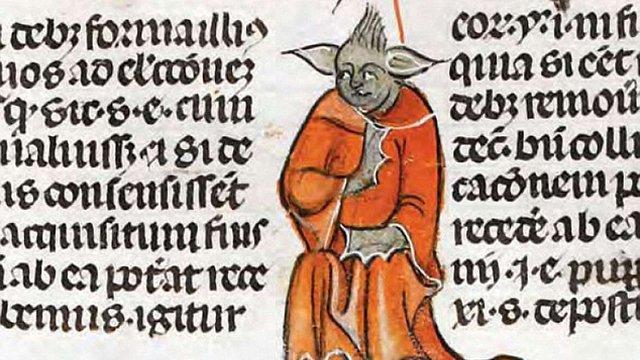 У Британській бібліотеці знайшли середньовічний аналог майстра Йоди із Star Wars
