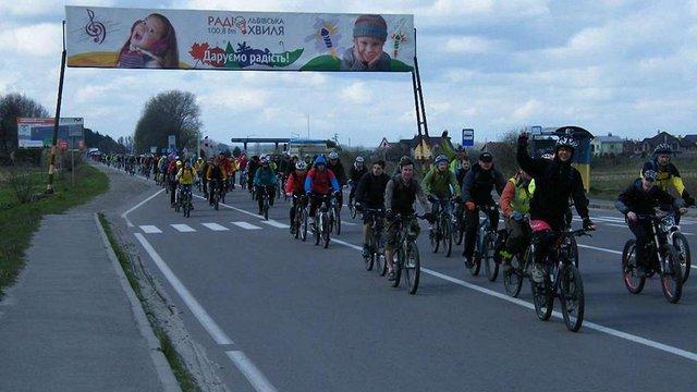 Понад сотня львів'ян взяли участь у велопробігу до заповідника «Розточчя»