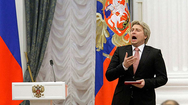 Співак Басков хоче стати міністром культури РФ