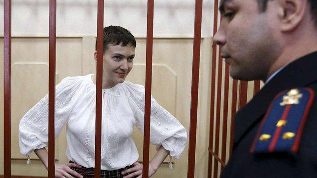 Надія Савченко може потрапити під путінську амністію до Дня Перемоги