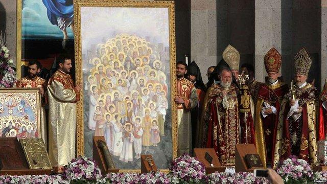У Вірменії відбулася наймасовіша канонізація в історії християнства