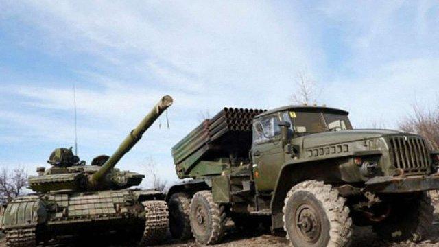 Росія на Донбасі концентрує величезну кількість бойовиків і техніки, – дані розвідки