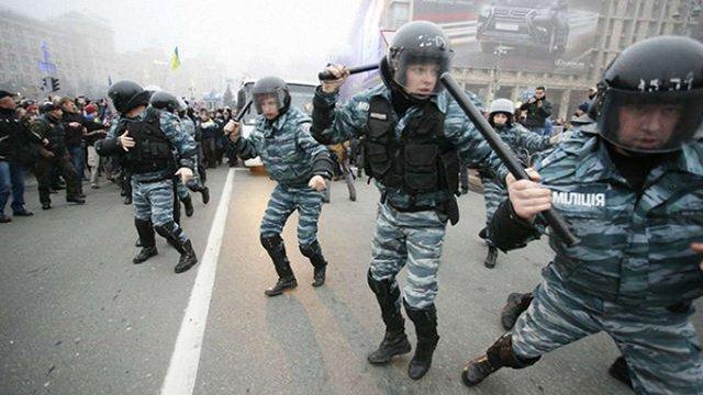 Трьох харківських «беркутівців», причетних до розстрілів Майдану, взяли під варту
