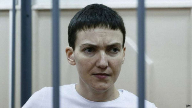 Надія Савченко попросила СБУ «не сунути носа до її справи»