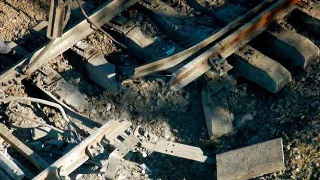 На непідконтрольній Україні ділянці залізниці під Луганськом стався вибух