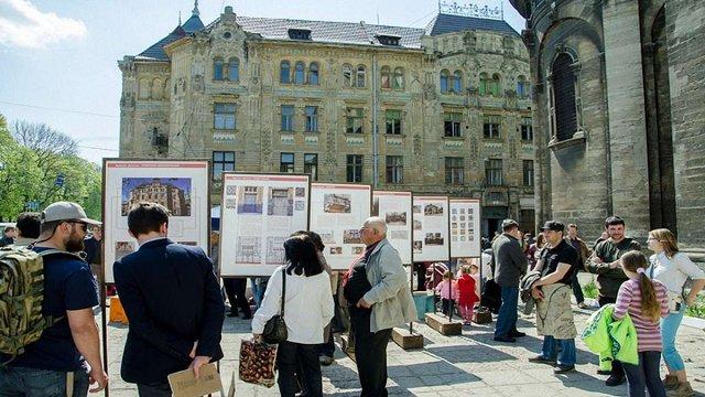 У Львові відкрили виставку до 110-ліття будинку Страхового товариства «Дністер»