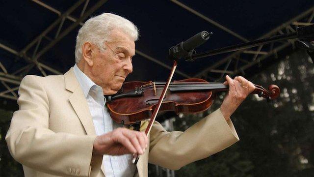Помер легендарний скрипаль з Дрогобича Альфред Шраєр