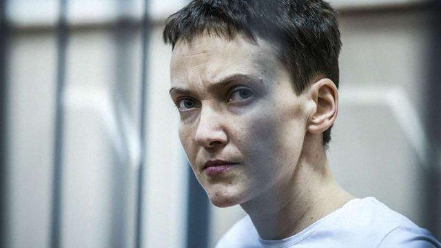 Савченко знову голодує, стан її здоров'я погіршився