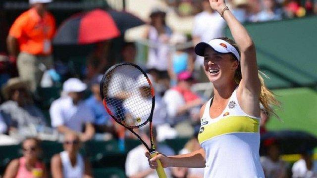 Українська тенісистка вперше потрапила у топ-25 рейтингу WTA