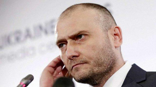 Дмитро Ярош повідомив, що ДУК ПС намагались роззброїти